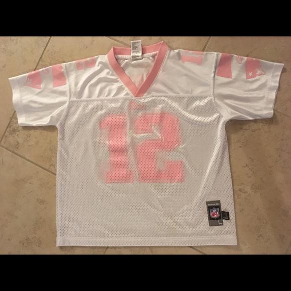 super popular e716e a78f2 Girls NFL Tom Brady jersey. Size large